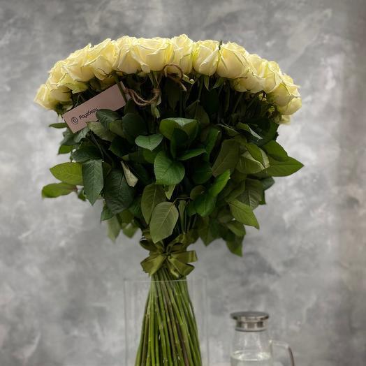 Букет «Snow Queen» из 101 белой розы
