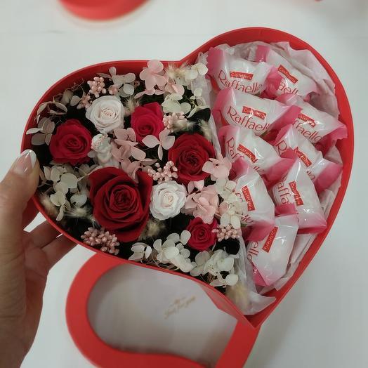 """""""S"""" Цветы в коробке"""