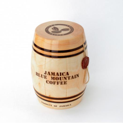 Кофе Ямайка Блю Маунтин в деревянном бочонке, 200 гр