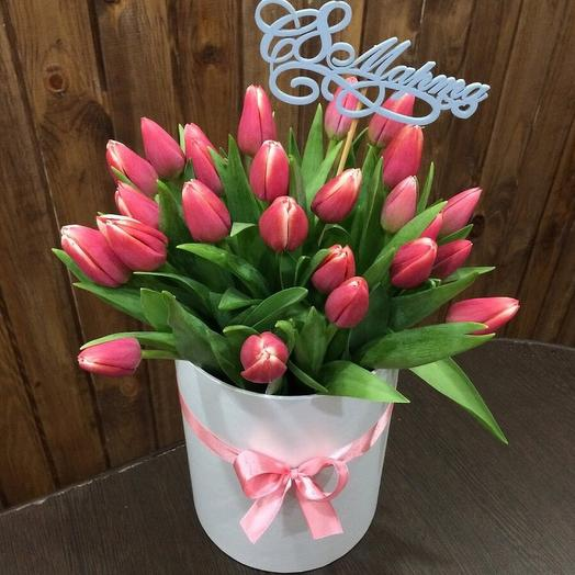 Tulips in a box 002