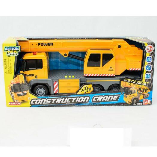 Кран строительный игрушка - Realtoy BOX Стройтехника