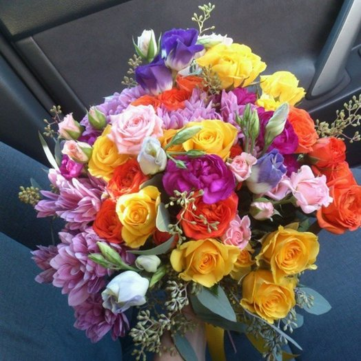 Букет Калейдоскоп: букеты цветов на заказ Flowwow