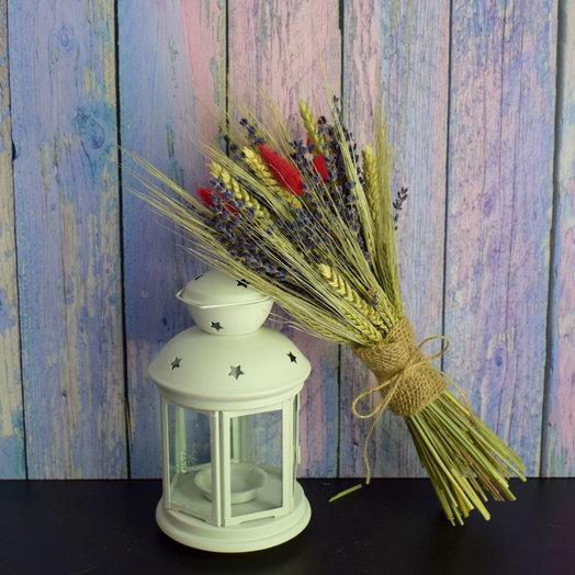 Букет из сухоцветов (размер М): букеты цветов на заказ Flowwow