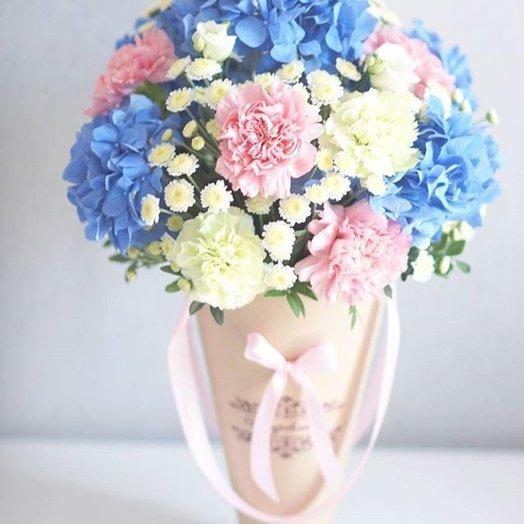 Парижское утро: букеты цветов на заказ Flowwow