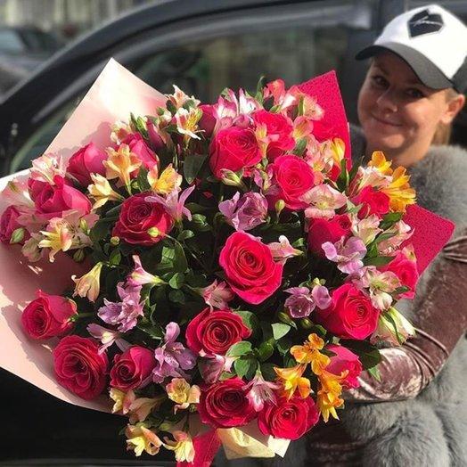 Букет Модное лето: букеты цветов на заказ Flowwow