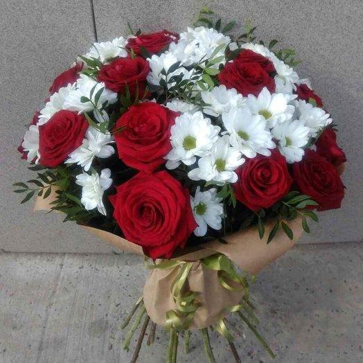 Кисс-кисс: букеты цветов на заказ Flowwow