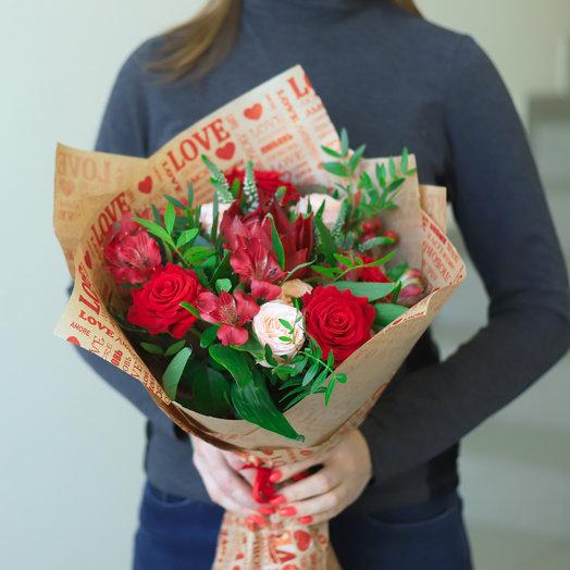 Романтичный про любовь: букеты цветов на заказ Flowwow