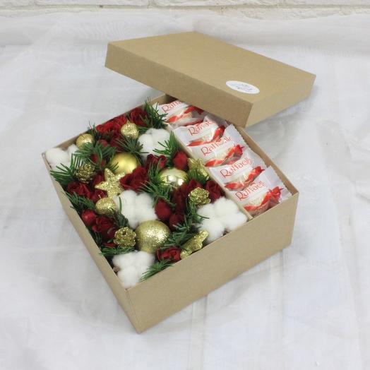 Вкусный комплимент 1: букеты цветов на заказ Flowwow