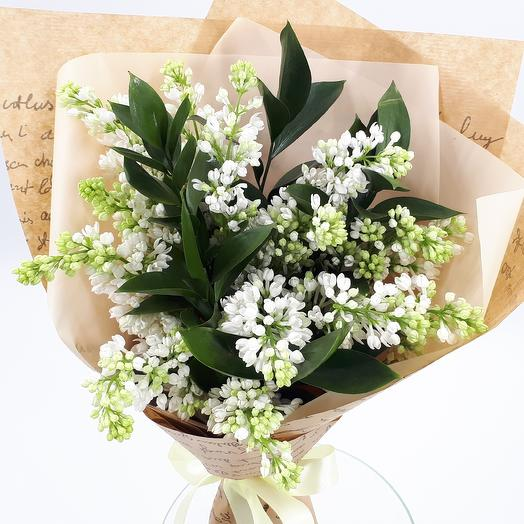 White lilac: flowers to order Flowwow