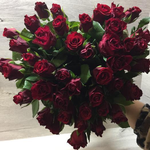 Букет роз 42см: букеты цветов на заказ Flowwow