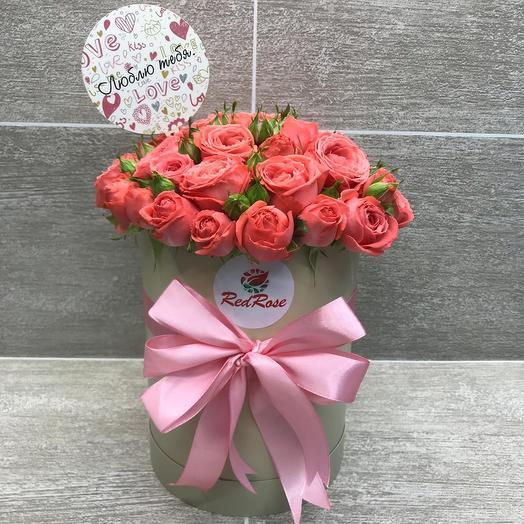 Ароматная валентинка: букеты цветов на заказ Flowwow