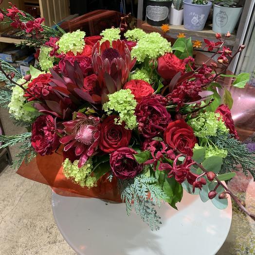 Любовь безгранична: букеты цветов на заказ Flowwow
