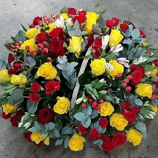 Солнечные краски: букеты цветов на заказ Flowwow