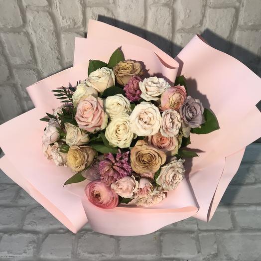 Букет «Нюдовый»: букеты цветов на заказ Flowwow