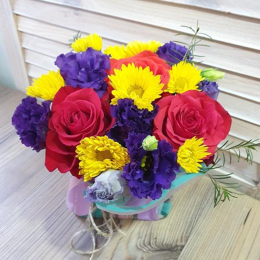 Лиловый вечер: букеты цветов на заказ Flowwow