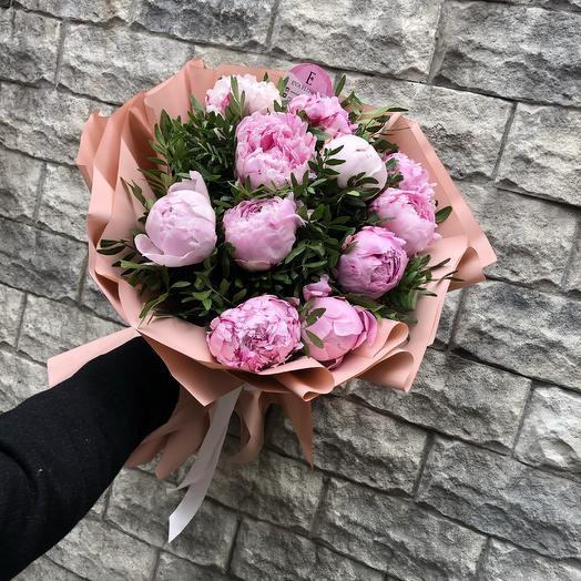 Пионы Style Princess: букеты цветов на заказ Flowwow