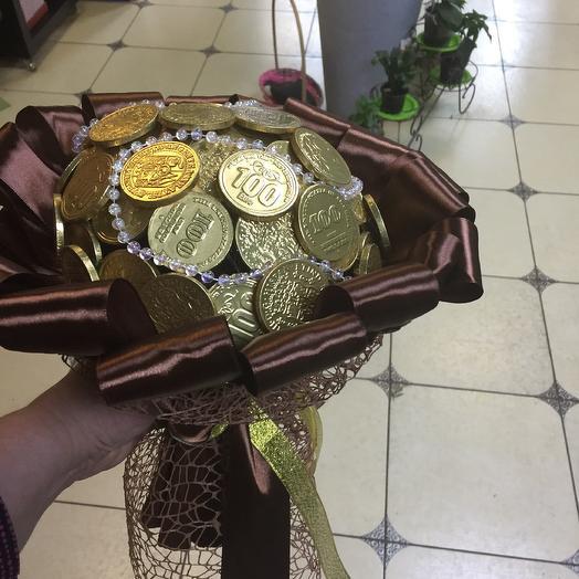 Финансовое изобилие: букеты цветов на заказ Flowwow