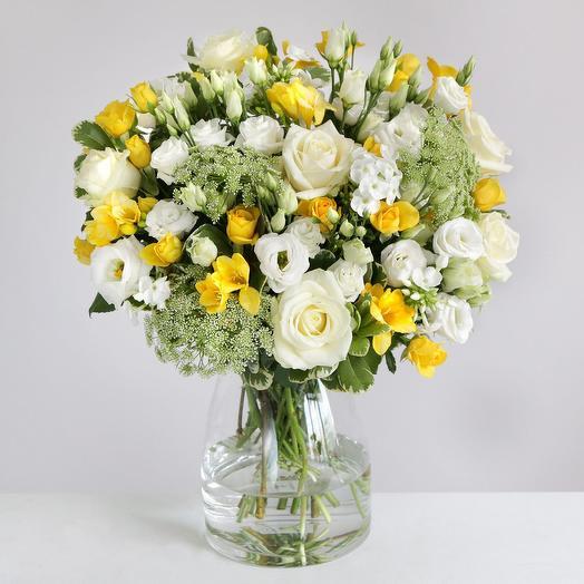 """Букет """"Лимончелло"""": букеты цветов на заказ Flowwow"""