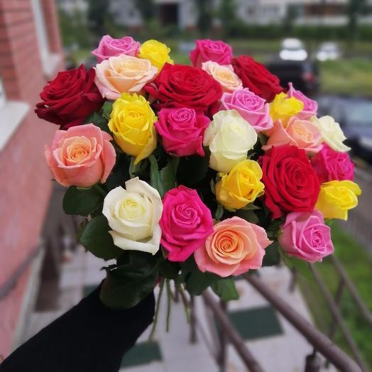 Роза Mix: букеты цветов на заказ Flowwow
