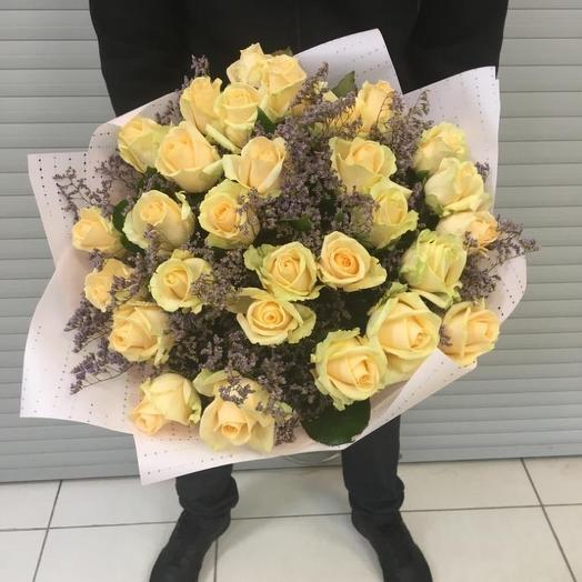 Розы пинч аваланж: букеты цветов на заказ Flowwow