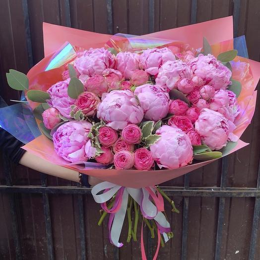Букет «Pur Pur»: букеты цветов на заказ Flowwow