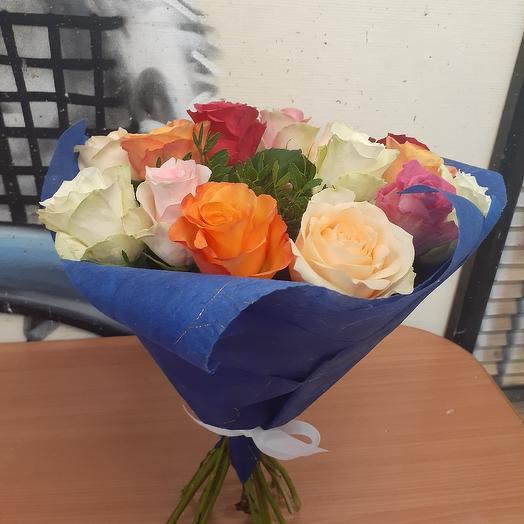 Яркий микс 15: букеты цветов на заказ Flowwow
