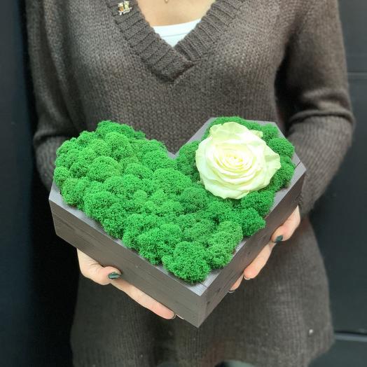 Биение сердца: букеты цветов на заказ Flowwow