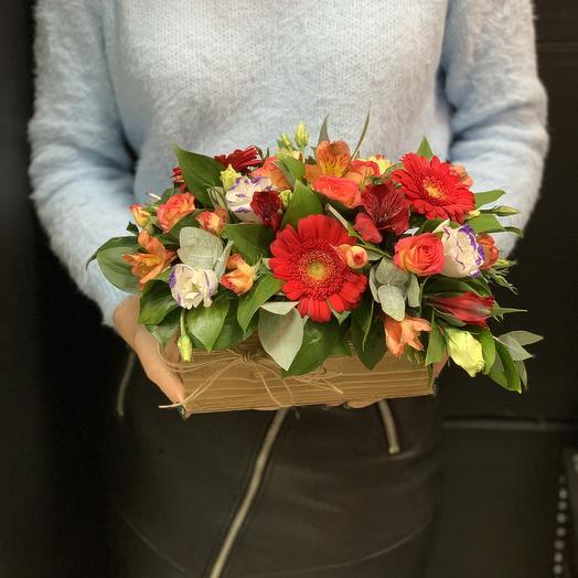 Ящик счастья: букеты цветов на заказ Flowwow