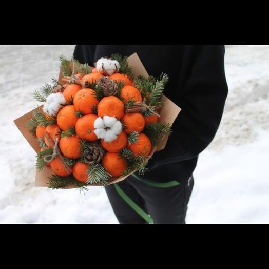 Зимний Мандарин: букеты цветов на заказ Flowwow
