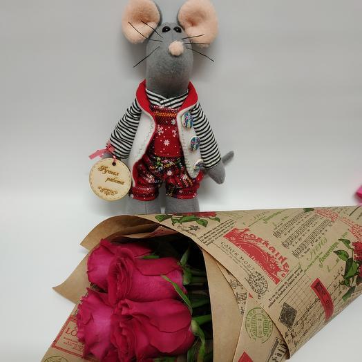 Подарочный набор 1: букеты цветов на заказ Flowwow