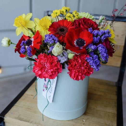 Коробка «день святого Валентина»: букеты цветов на заказ Flowwow