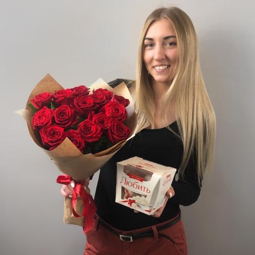 Комбо для свидания: букеты цветов на заказ Flowwow