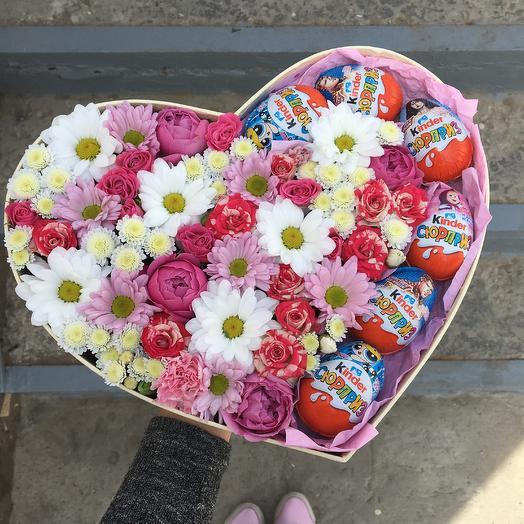 Kinder love: букеты цветов на заказ Flowwow