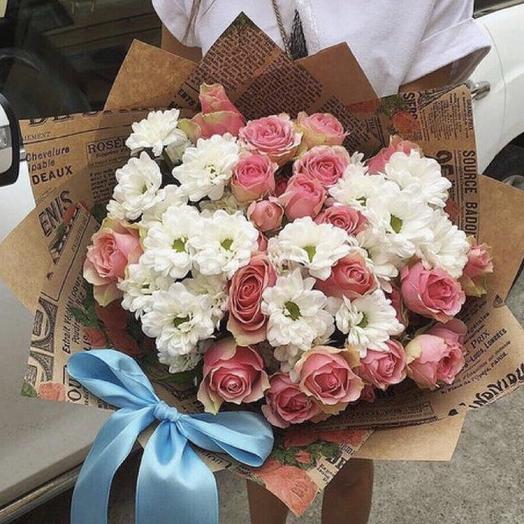 Шёлковый путь: букеты цветов на заказ Flowwow