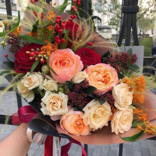 Аннета: букеты цветов на заказ Flowwow