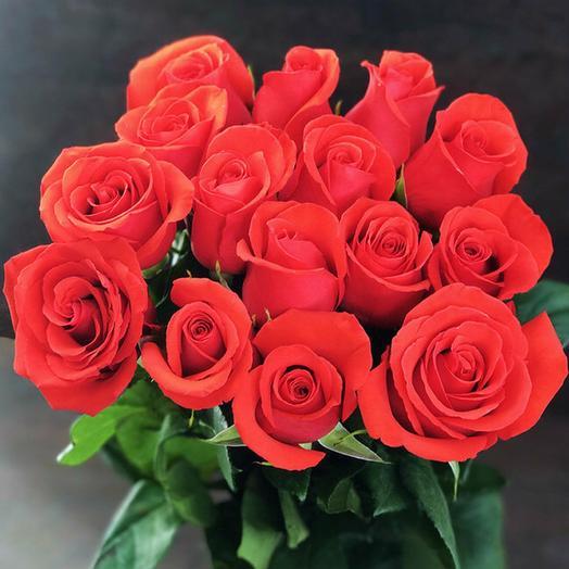 15 эквадорских роз Нина