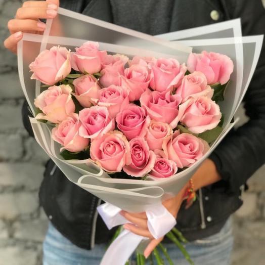 Евробукет из 21 розы