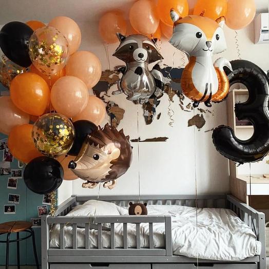 Воздушные шары Сказка. Огромное украшение
