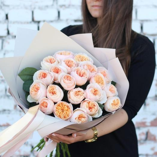 """Пионовидная роза Дэвида Остина """"Джульет"""""""
