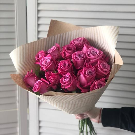 Розы 15 шт