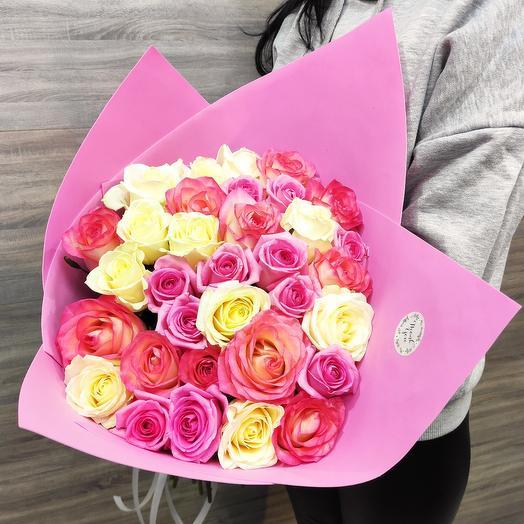 """✅ Букет из роз ,,Нежность"""" 33"""