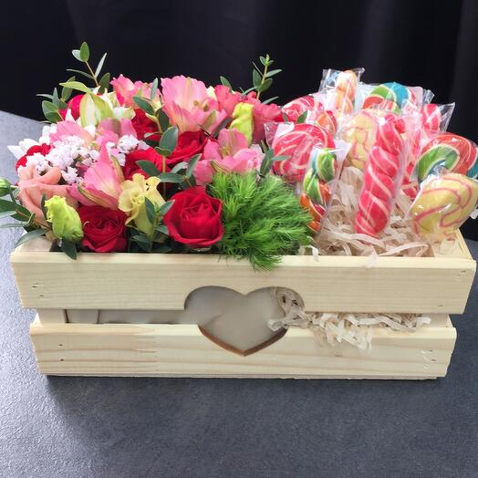 «Ящик с конфетами «