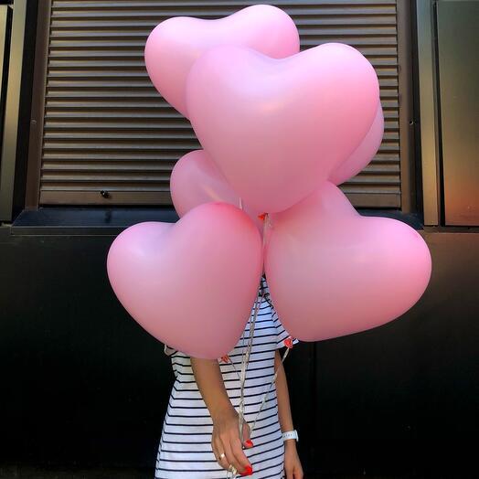 Нежная любовь шары