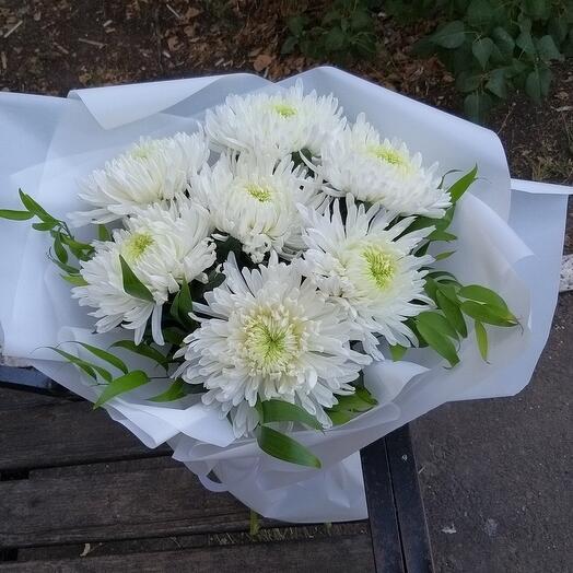 """Букет из хризантем """"Магнум"""""""