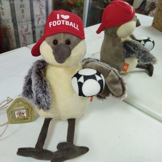 Воробей-футболист
