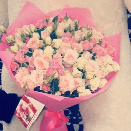 29 шт кустовая роза