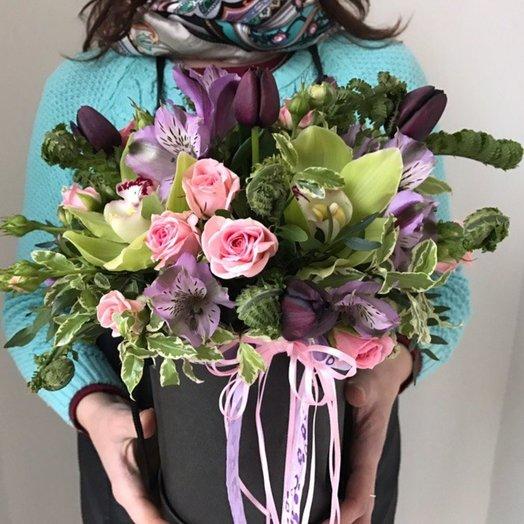 Коробочка Редкая: букеты цветов на заказ Flowwow