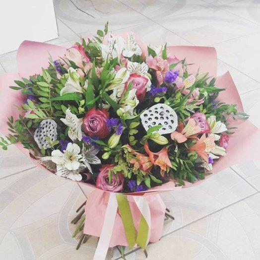 Европа-Азия: букеты цветов на заказ Flowwow