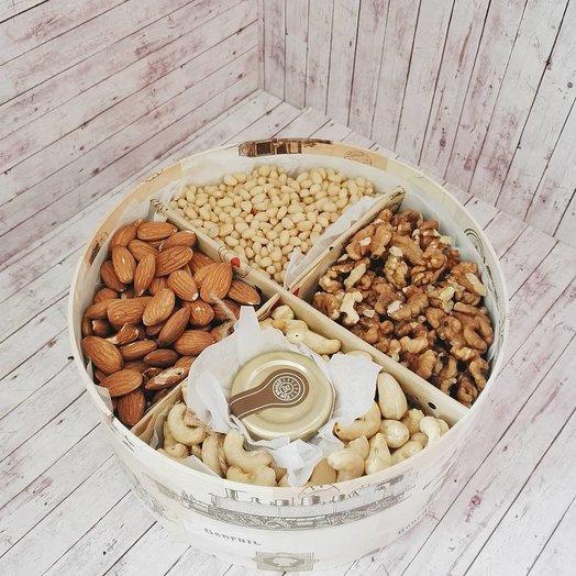 Медово-ореховая коробочка
