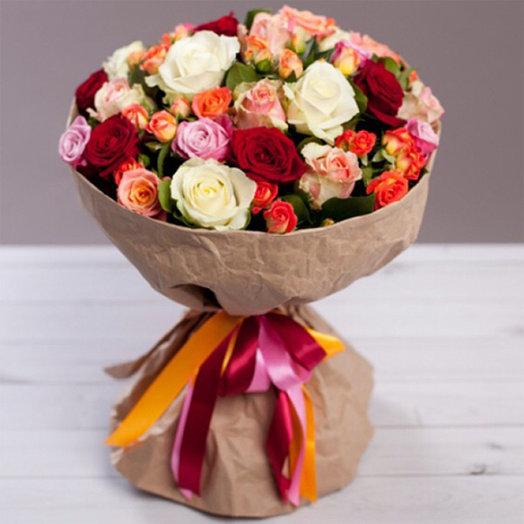 """Букет """"Цвета любви"""": букеты цветов на заказ Flowwow"""